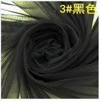 5 meters/ lot , ZAKKA high quality hexagonal mesh tulle fabric Black color 150 X 500cm