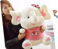 48cm Plush Toy & Stuffed Animals Elephant, Toys & Hobbies Plush Animals, Plush Elephant for Christmas's Gift