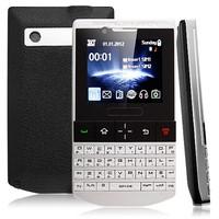 9981 Phone Quad Band Dual SIM Card TV FM Bluetooth Dual Camera QWERTY Cell Phone
