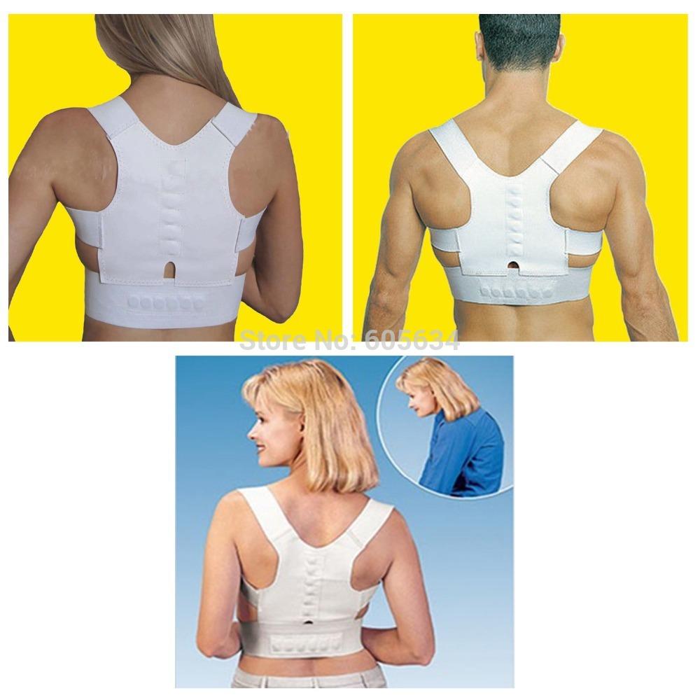 Magnetic Posture Corrector Braces&Support Body Back Pain Belt Brace Shoulder For Men Women Care Health Adjustable Posture Band(China (Mainland))