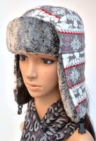 New cheap children lei feng cap winter ear warm bomer hats fashion girls 2014 Christmas gifts hats