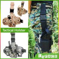 Military Tactical Holster Multipurpose Tactical Thigh Leg Pocket bag Multi-Color Outdoor Pistol Gun Holster