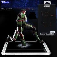 Original Baseus 0.2MM Ultra thin Premium Tempered Glass Screen Protector Guard Film For HTC One M8 HTC M8 screen film