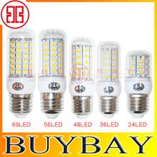 New arrival SMD5730 24LED 36LED 48LED 56LED lamp 9W 12W 15W 18W E27 led bulb light 220V/110V Warm White/ white,5730 Led,5pcs/lot(China (Mainland))