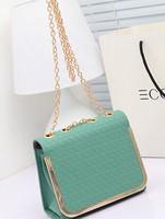 new candy-colored small bag lady handbags fashion chain shoulder Messenger Bag