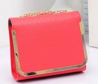 2014 new candy-colored small bag lady handbags fashion chain shoulder Messenger Bag