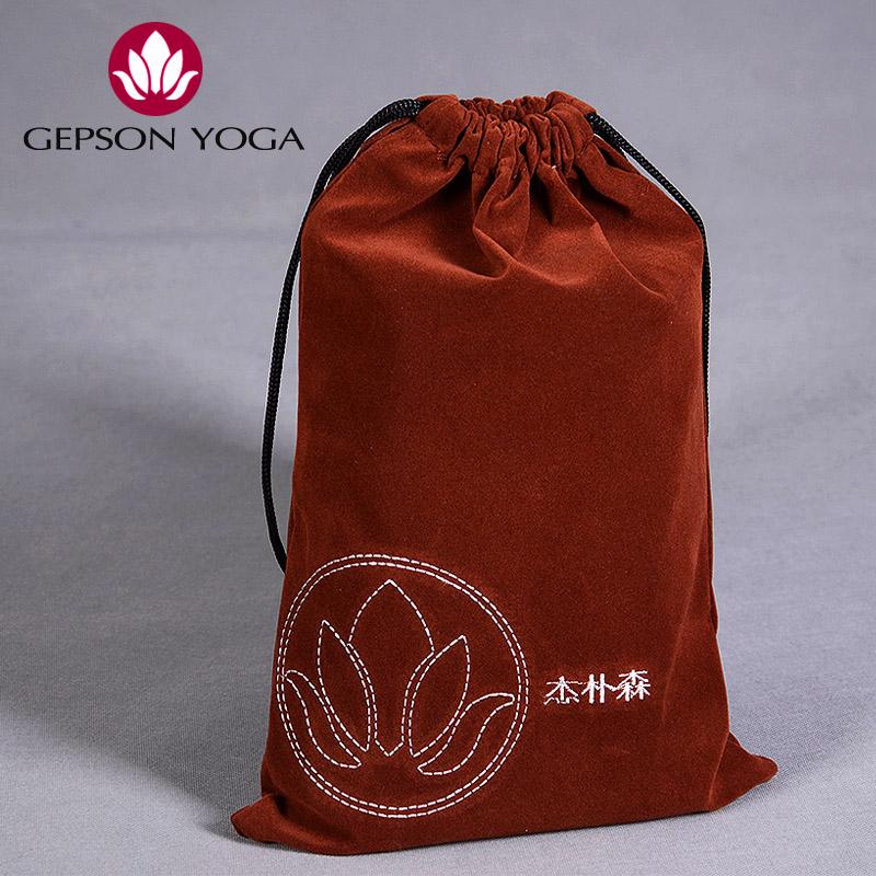 2015 Promotion Hot Sale Jepson Shop Towel Special Storage Velvet Cloth Yoga Mat Bag(China (Mainland))