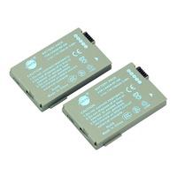 DSTE 2PCS BP-208 Li-ion Battery Pack for Canon DC10, DC20, DC21, DC22, DC40, DC50, DC51, DC95, DC100