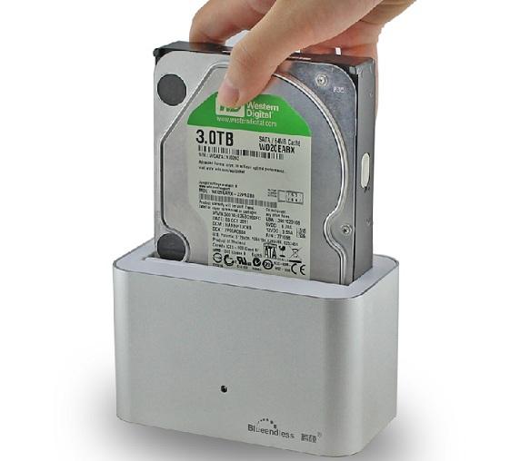 New USB3.0 Sata 2.5 Sata3.5 Hard Disk Drive SATA HDD Docking Station, Free shipping(China (Mainland))