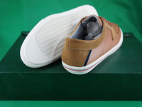Material:Ox & Fur Genuine Leathe,brand shoes, Mens Casual Canvas Lace Slip on High Top Ankle Boots Sneakers Loafers Shoes