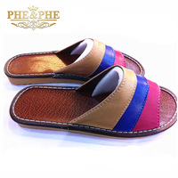 l [group] summer home floor sandals fashion sheepskin slippers indoor skidproof leather slippers wholesale manufacturers
