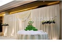 free shipping wedding backdrop drape/wedding backdrop for bride and groom / christmas