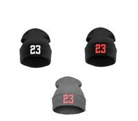 Hot Sale Winter Fashion Beanies NO 23 Wool Caps Knitted Hats Hip Hop Gorros Bonnets Skullies Women Men Free Shipping