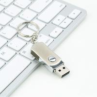 5pcs Metal Roating USB2.0 Flash Memory Drive 16GB 32GB 64GB Stick Pen Thumb U Disk