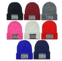 New Beanie Fashion PARENTAL ADVISORY EXPLICIT  Beanie Hat Cotton Caps For Man/Women Hip-hop Skullies & Beanies