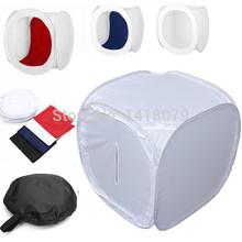 Free Shipping Camera Accessories 60x60cm Photo Studio Shooting Tent Light Cube Box SoftBox + 4 Color Backdrops+ Portable Bag