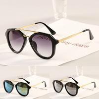 lowest 10/pcs/lot 2014 brand Sun Glasses Big frame star style fashion sunglasses New arrival super cool Gafas Oculos De Sol