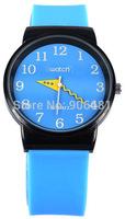 2014 new fashion Brand Sport Men Women Watch Silicone Diving Waterproof Dress Watch big digital Quartz Wristwatch Jelly Watches