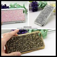 1pc! Bling Bling Shining Crystal Diamond Glitter Diamond Case Cover For iPhone 6 plus 4.7 5.5