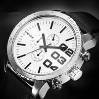 WEIDE WH3310 Men Sport Military Watches Army Japan quartz Movement Wristwatch Fashion Men's Watch 30 meters water