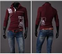 2014 Hot blusas Air Force Aeronautica Militare T Shirt Men Full Long Sleeve Men's T-shirts Brand Sport Shirts ,8963Free Shipping