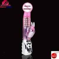 Baile Brand ABS+TPR dildo jack rabbit vibrator 6-Rotation 7-Vibration waterproof  vibradores femininos sex toys for women