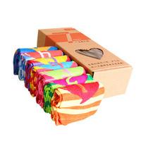 Free shipping 7 pairs / box Sport Socks fashion wild Woman Socks antibacterial Socks Cotton Socks anti-friction