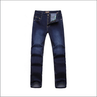 Free shipping! Men's fashion wild male casual relaxed straight jeans brand stretch cotton jeans