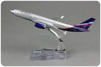 Free Shipping!Russian airline airbus A330 AIRPLANE models 16CM aviation modeldisplay aeroplane model