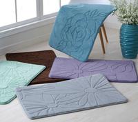 Washable Memory foam Entrance doorway doormat Non-slip kitchen rugs bathroom mats 40*60cm free shipping