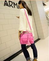 2014 new matte leather shoulder bag hand handbag