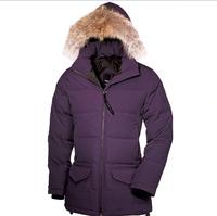 Women Jacket Winter Fur Hooded Coat Goose Parka Long Winter Down Jacket Female Snowimage 2014 Plus Size Free Shipping
