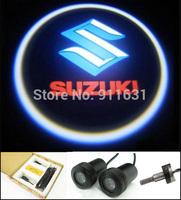 2PCS 4th Generation Logo Car Door Lights for Suziki Led Car Logo Door Light Welcome Light Projector Car Logo Shadow Light #E115A