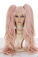 hot!New Coming ! Danganronpa Junko Enoshima Pink Cosplay Wig Party Wig