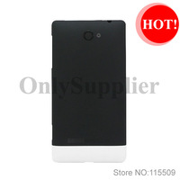 100% original new housing cover White Battery back cover Housing With Side Buttons For HTC 8S A620e Repair Parts Free Shipping
