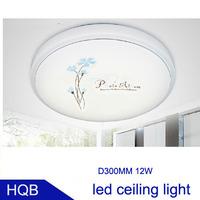 New! factory sell Arcrylic led ceiling light lamp living room light modern restaurant Bathroom lamp 12w led lighting 10pcs/lot