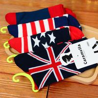 New Stars and Stripes flag socks lovers socks socks cotton socks wholesale influx of men 30016