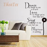 DIY Home Decor Dance Character Wall Sticker Stickers for Wall  Poster adesivo de parede decals adesivos decorativos d13