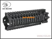 "Big Dragon Lite Rail 7"" Quad Rail System Tactical Rail BK, TAN+Free shipping(SKU12050382)"