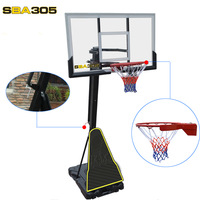 SBA305-027 outdoor standard adult household outdoor basketball highly mobile elevating basketball box