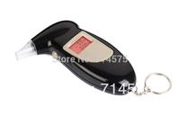 2014 Promotion free Shipping, Key Chain Alcohol Tester, Digital Breathalyzer, Breath Analyze Tester (0.19% Bac Max) , Wholesale