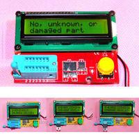 ESR Meter led Transistor Tester Diode Triode Capacitance MOS PNP NPN 1602 LCD Backlit