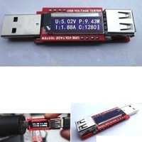4in1 OLED Display Mini USB Battery Capacity Tester Current Voltage Power Monitor Digital led Meter 3V-10V 0-3.3 A