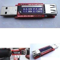 4in1 OLED Display Mini USB Battery Capacity Tester Current Voltage Power Monitor Digital led Meter 3V-10V 0-3.3 A