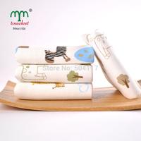New 2014 Brand  Towel Promotion-3PC 25*50CM 100% Cotton Gauze Hand Towel Baby Bath Towels Children Bibs Cleansing Cloth 060417