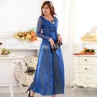 Free Shipping Uncommon Fashion 2014 Autumu Evening Dress