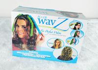 Free Shipping Latest New Lengthen DIY Hair Women's Fashion Hair Stick Curler Curling Iron Magic Volume Hair Care 16pcs In Box