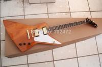 Classic 1958 korina explorer electric guitar shaped
