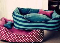 2014  Pet Bed Soft Material Dog Mat Pet House Cat Warming Bed Puppy Sleeping Nest  Pet Product L:60*50*15cm  XL:72*63*17cm