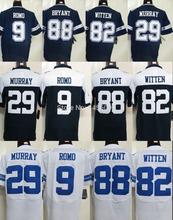 Newest Dallas #88 Dez Bryant Jerseys Jason Witten DeMarco Murray Thanksgiving Elite American Foobtall Jersey Embroidery Logo  (China (Mainland))